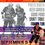 Event Poster for Southshire Roller Derby's September 5 Roller Derby Double Header