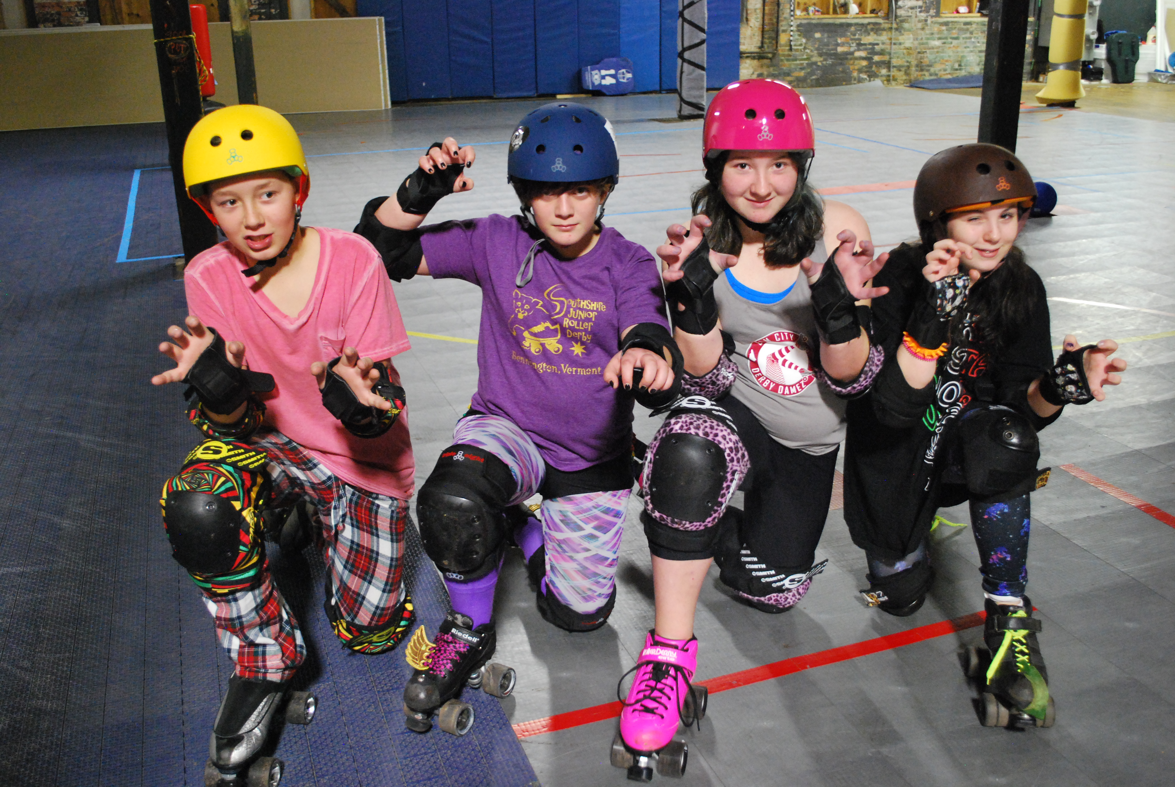 How to Join Junior Roller Derby